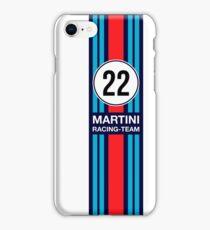 MARTINI RACING TEAM iPhone Case/Skin