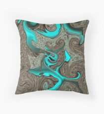 TELEPORTATION Throw Pillow