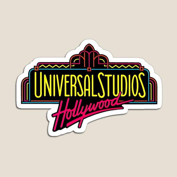 Universal Studios Hollywood Vintage Logo  Magnet