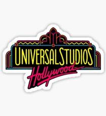 Pegatina Logotipo de Universal Studios Hollywood Vintage