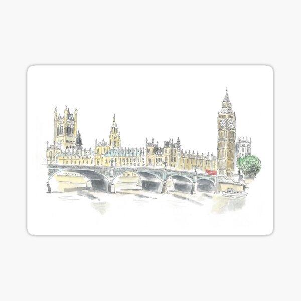 Houses of Parliament Sticker