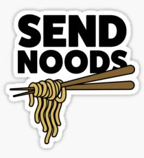 SEND NOODS Sticker