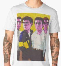 Pink Wire Men's Premium T-Shirt