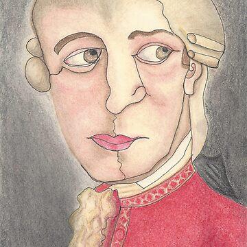 Mozart by DeborahMcGrath