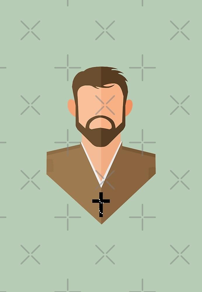 St. Benedict Joseph Labre by mikbails