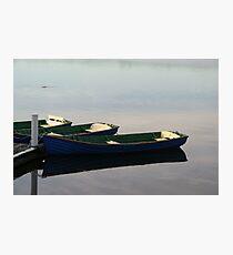 Row Boats Photographic Print