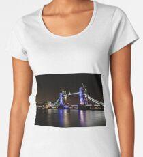 Tower Bridge, London night Women's Premium T-Shirt