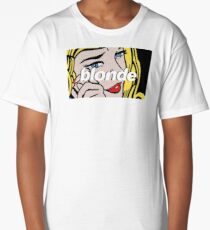 frank ocean - blonde pop art Long T-Shirt