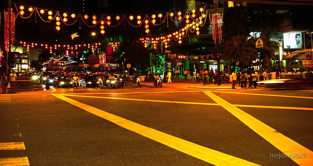KL, decorated for Chinese New Year by mejmankani