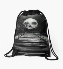 End of the Line  Drawstring Bag