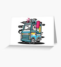 Killer Ice Cream Truck Greeting Card