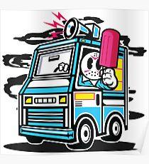 Killer Ice Cream Truck Poster