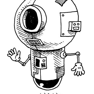Floating Friendly Bot by awcomix
