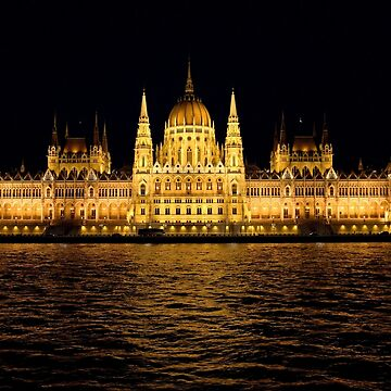 Hungarian Parliament Building by tomg
