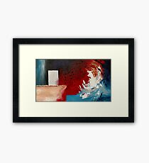 JAWS Framed Print