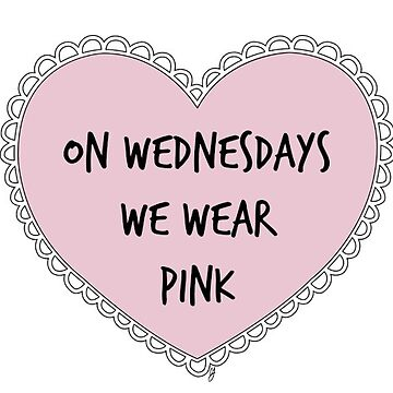 Tumblr Heart - Mean Girls - We Wear Pink de lovedance97