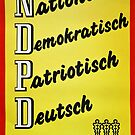 NDPD - National Democratic Party of Germany (East German Party till 1990)  by Remo Kurka