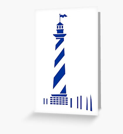 Lighthouse VRS2 Greeting Card