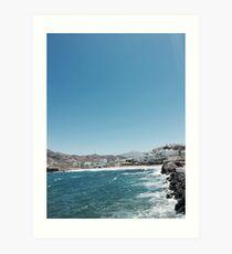 Naxos island  Art Print