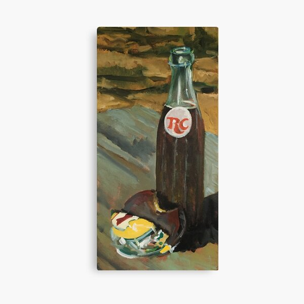 RC Cola and A Moonpie Canvas Print