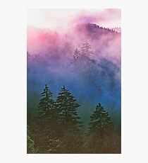 MISTY MOUNTAINS Photographic Print