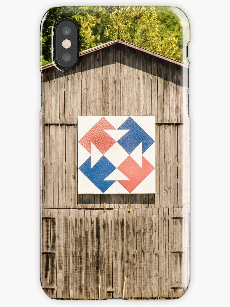 Kentucky Barn Quilt - Capital T by mcstory