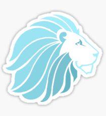 Blue Lion Sticker