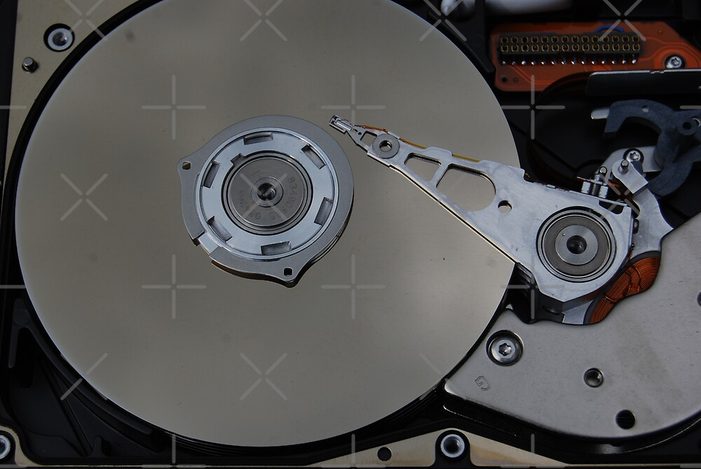 Inside Disk Drive by Peter Green