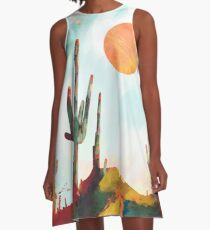 Desert Day A-Line Dress