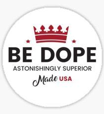Dope Cream Sticker