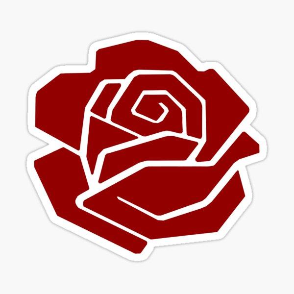 Democratic Socialist Rose DSA Sticker