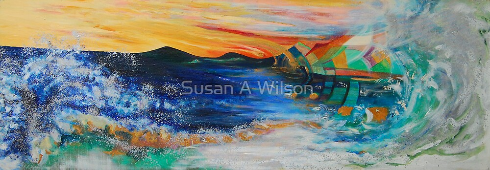 Journey Through a Wave on Io by Susan A Wilson