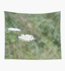 Queen Anne's Lace - Digital Photograph with Lomography Daguerreotype Achromat Art Lens Wall Tapestry
