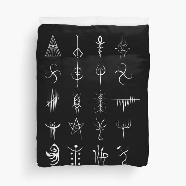 Bloodborne caryll runes  Duvet Cover