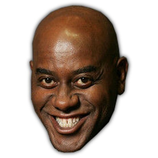 ainsley harriott funny meme face posters by zelius redbubble