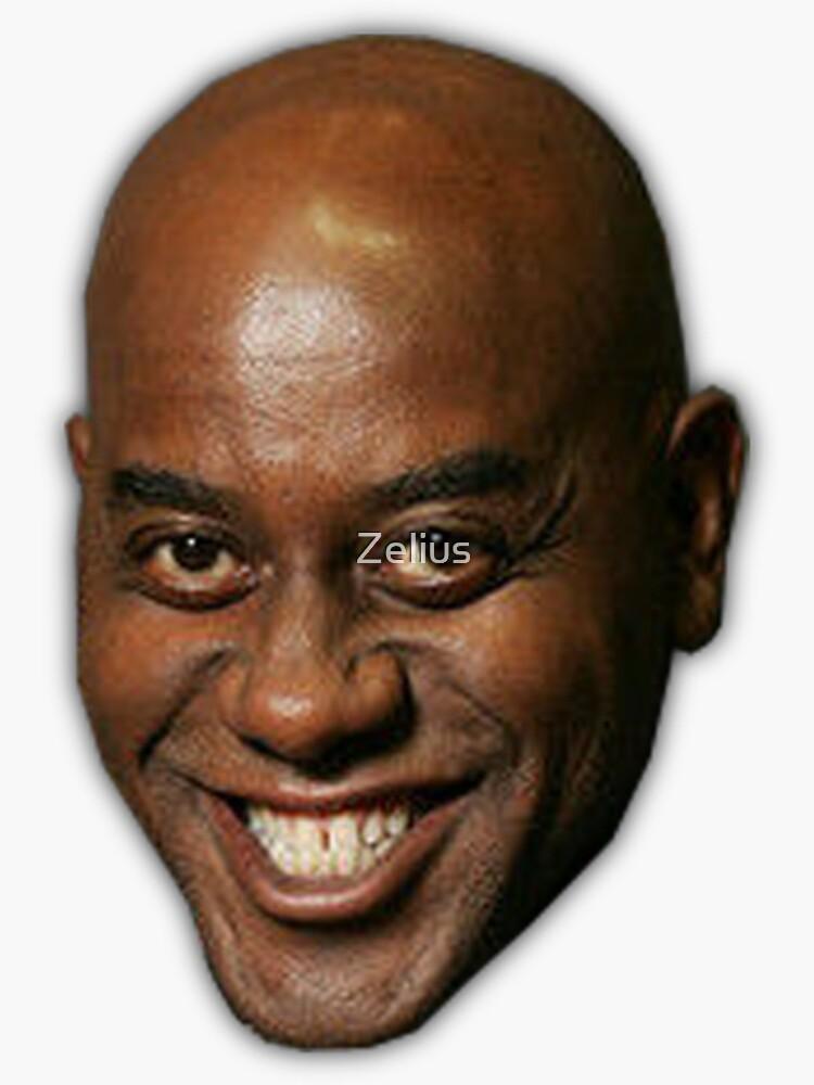 Ainsley Harriott funny meme face by Zelius