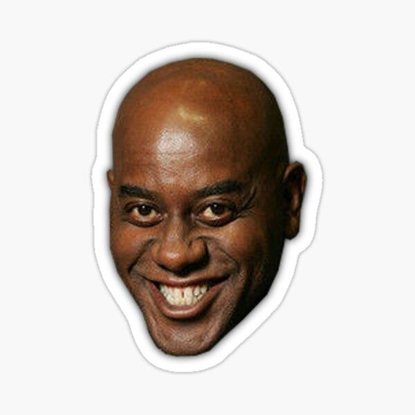 Ainsley Harriott drôle meme visage Sticker