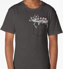 Pocket messengers from Bloodborne  Long T-Shirt