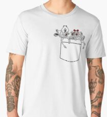 Pocket messengers from Bloodborne  Men's Premium T-Shirt