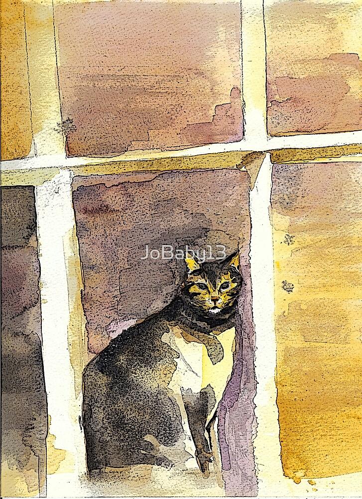 Window Cat by JoBaby13
