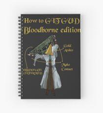 Bloodborne Illuminati  Spiral Notebook