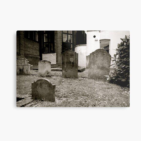 Grave View Metal Print
