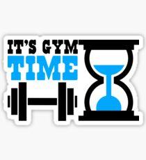 It's gym time Sticker