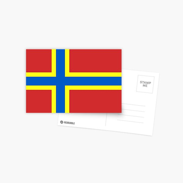 Flag of Orkney, Scotland Postcard