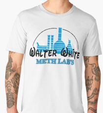 BREAKING BAD WALTER WHITE LAB HEISENBERG Men's Premium T-Shirt