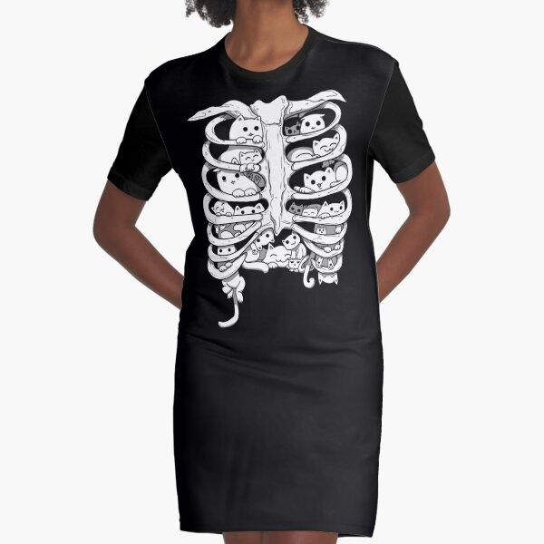 C.A.T.S. Graphic T-Shirt Dress