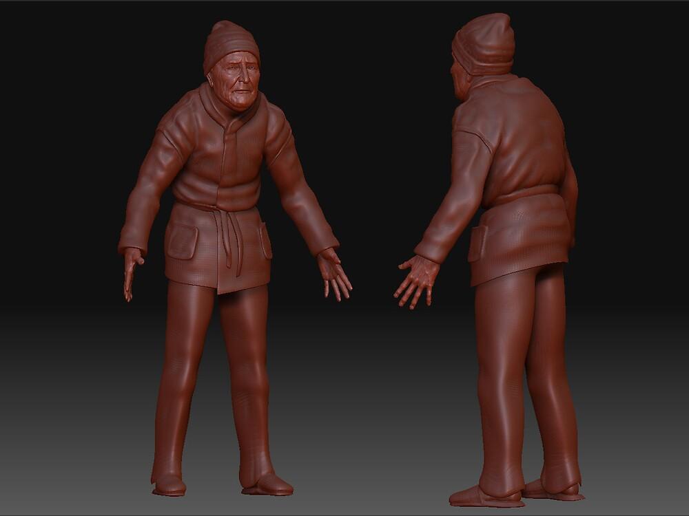 Nonno Michelangelo Figura Intera by ClaM