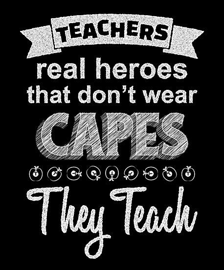 """Inspirational Teacher Quotes Canvas Print"" Photographic ..."