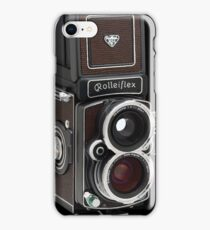 Rolleiflex Medium Format Camera iPhone Case/Skin