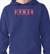 mother effing woman Pullover Hoodie